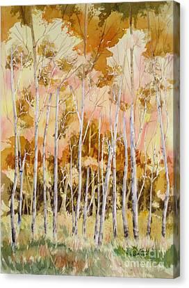 Aspens 2 Canvas Print by Mohamed Hirji