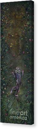 Aspiration Of The Koi Canvas Print