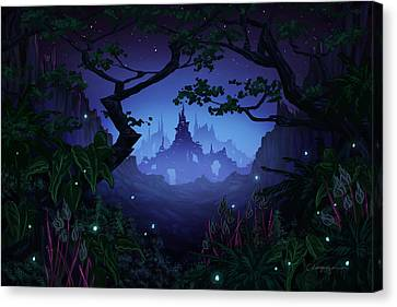 Aspiria Canvas Print by Cassiopeia Art