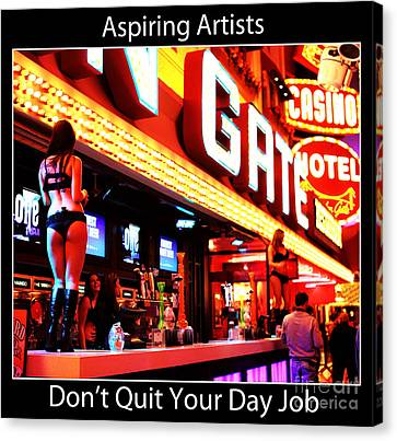Aspiring Artists Canvas Print by John Rizzuto