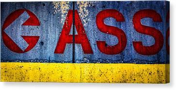 ASS Canvas Print by Bob Orsillo