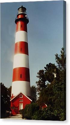 Assateague Lighthouse Canvas Print by Joann Renner