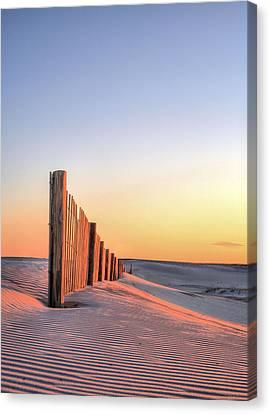 Chincoteague Canvas Print - Assateague Orange by JC Findley