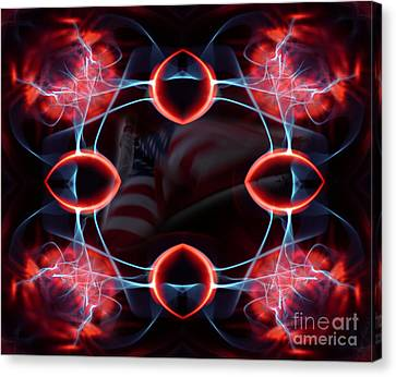 Canvas Print featuring the photograph Assault From Within by Clayton Bruster
