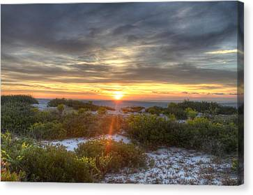 Asseteague Sunrise Canvas Print
