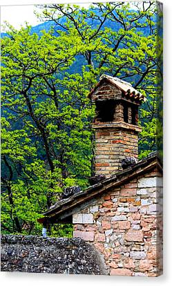 Canvas Print featuring the photograph Assisi 2 by Theresa Ramos-DuVon