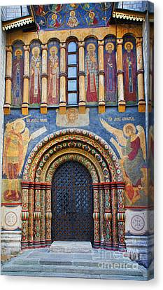 Nosyreva Canvas Print - Assumption Cathedral Entrance by Elena Nosyreva