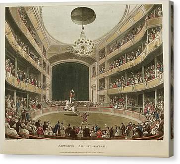 Astley's Amphitheatre Canvas Print