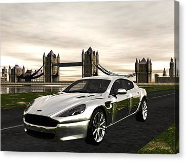 Aston Canvas Print by John Pangia