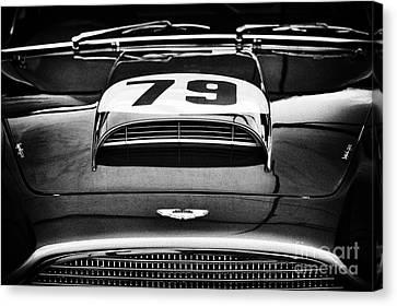 Front End Canvas Print - Aston Martin Superleggera by Tim Gainey