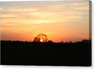 Aston Sunset Canvas Print