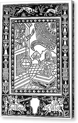 Astronomer, 1493 Canvas Print by Granger