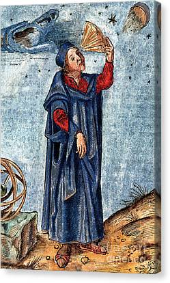 Astronomer 16th Century Canvas Print by Nypl