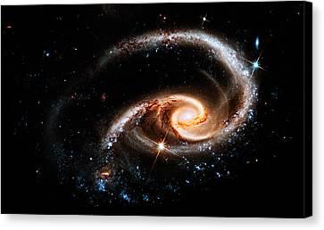 Astronomic Nautilus Canvas Print by Weston Westmoreland