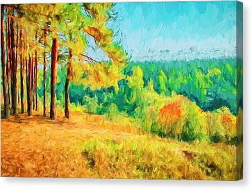 At Autumn Canvas Print by Yury Malkov