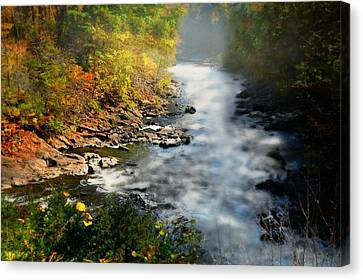 At Bull's Bridge Canvas Print