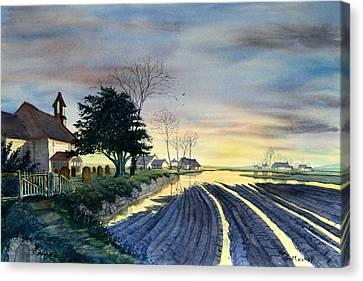 At Eventide Canvas Print by Glenn Marshall