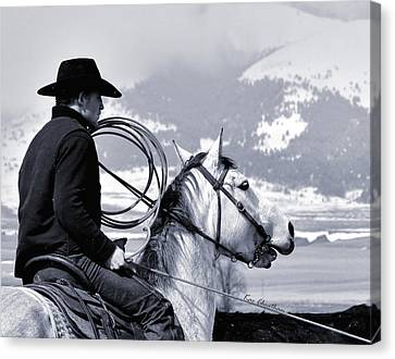 At Home On The Range - 2 Canvas Print