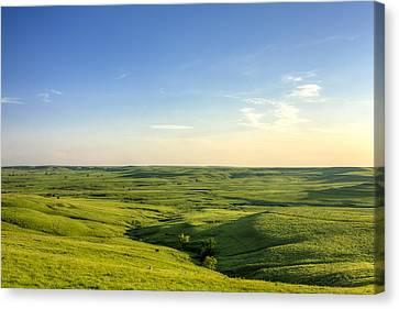 Canvas Print featuring the photograph At Peace  by Scott Bean