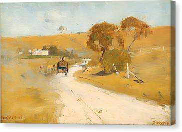 At Templestowe Canvas Print by Mountain Dreams