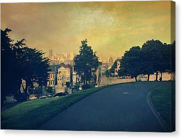 At The Curve Canvas Print by Laurie Search