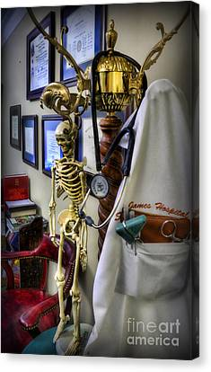At The End Of The Day - Doctor  Canvas Print by Lee Dos Santos