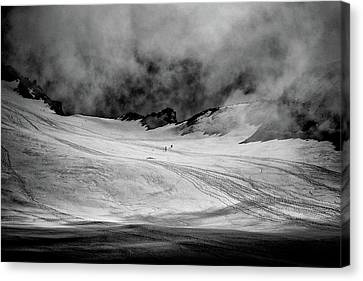 At The Foot Of Monte Rosa Canvas Print