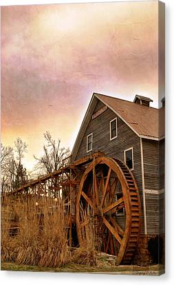 At The Mill Canvas Print by Gregory Ballos