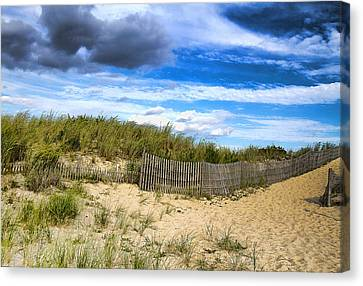 At The Shore Canvas Print by Trudy Wilkerson