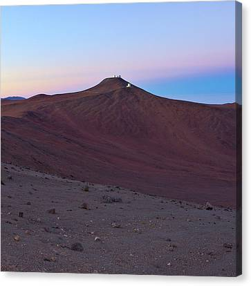 Atacama Desert And Paranal Observatory Canvas Print
