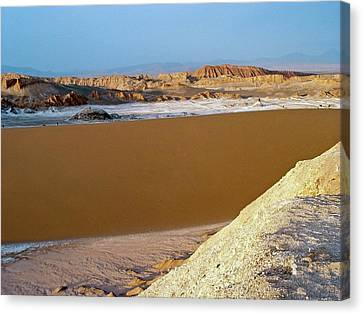 Valley Of The Moon Canvas Print - Atacama Desert by European Southern Observatory