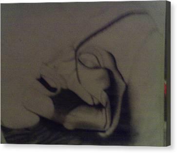 Atacama Humanoid Canvas Print by Alijah Teece