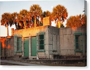 Atalaya At Huntington Beach State Park Canvas Print by Vizual Studio