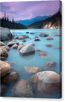 Athabasca Rocks Canvas Print by Cale Best