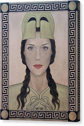 Athena Canvas Print