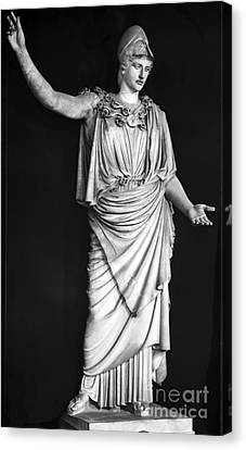 Athena Or Minerva Canvas Print by Granger