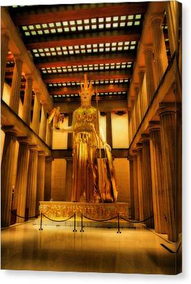 Athena Parthenos Canvas Print by Dan Sproul