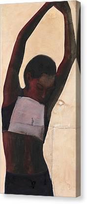 Athlete Canvas Print