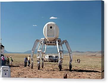 Athlete Lunar Rover Testing Canvas Print by Nasa-johnson Space Center