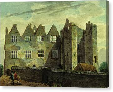 Antiquities Canvas Print - Athlumny Castle, Antiquities Of The County Of Meath by Litz Collection