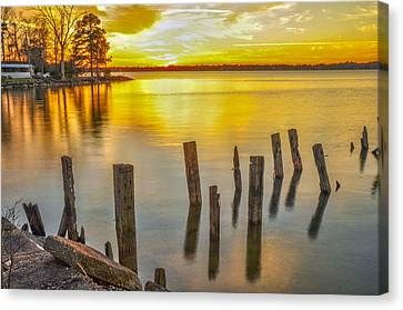 Atkins Landing Canvas Print by Donnie Smith