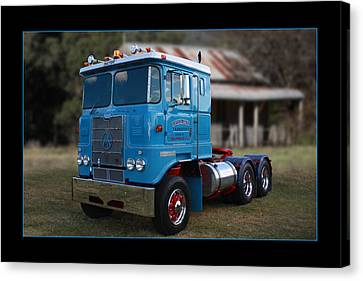 Canvas Print featuring the photograph Atkinson Prime Mover by Keith Hawley