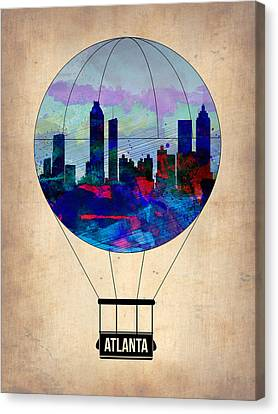 Atlanta Air Balloon  Canvas Print by Naxart Studio