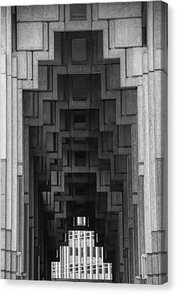 Atlanta Ga Architecture-city Building Canvas Print