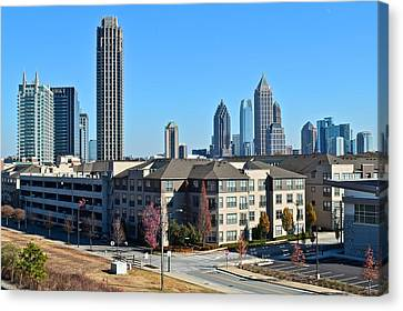 Atlanta Canvas Print by Frozen in Time Fine Art Photography