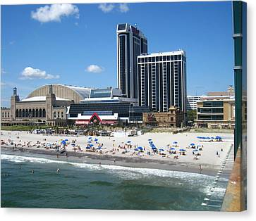 Atlantic City - 12125 Canvas Print