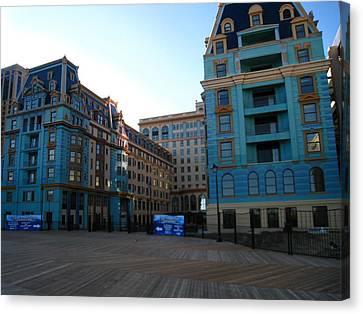 Atlantic City - Boardwalk - 01138 Canvas Print by DC Photographer