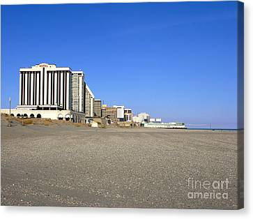 Atlantic City New Jersey Canvas Print by Olivier Le Queinec