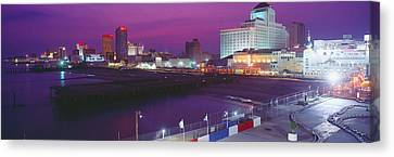 Atlantic City, New Jersey Canvas Print by Panoramic Images