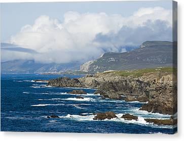 Atlantic Coast Achill Island Canvas Print by Jane McIlroy